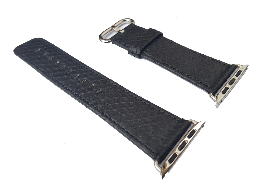The designer luxury python leather Apple Watch band strap 42mm 38mm is great for the iWatch