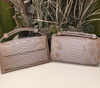 Snakeskin Python Clutch - luxury womens accessories