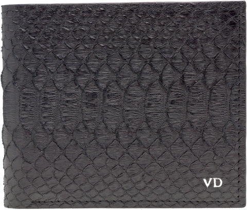 Red Python Snakeskin Luxury Wallet