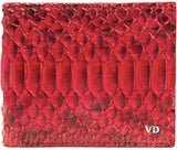 Python wallet and card holder phone case fashion accessory anaconda viper snake skin cobra iPhone 7 python wallet handbag custom