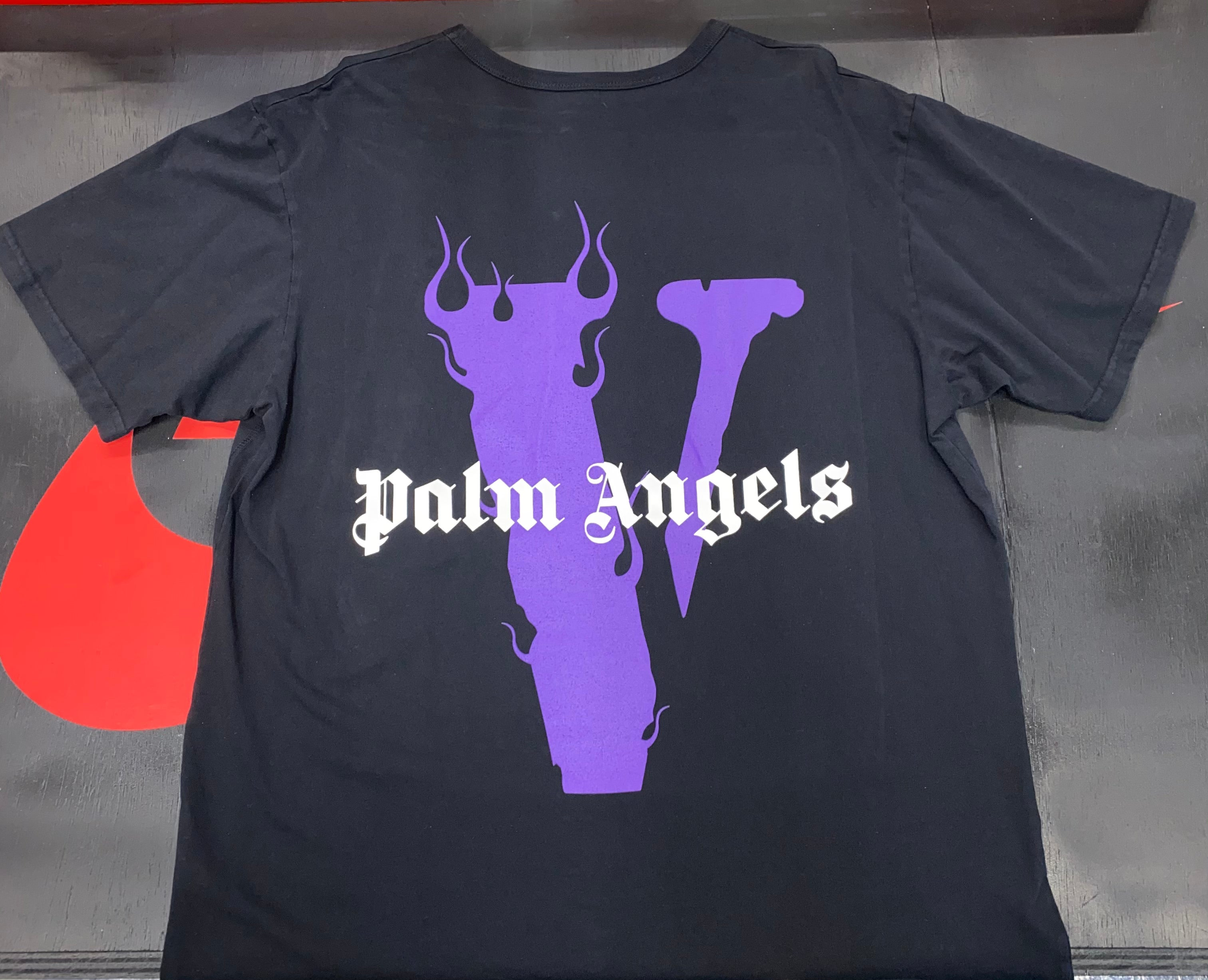 Purple Vlone x Palm Angels Shirt