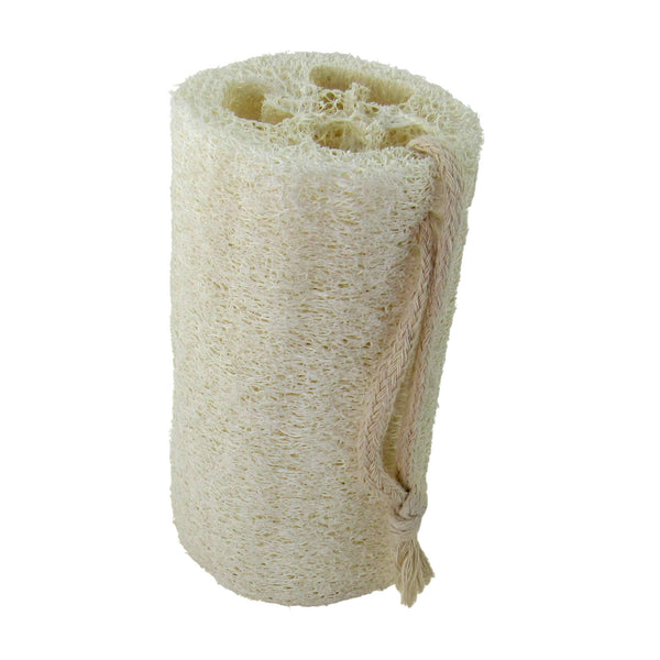 Natural Loofah Bath Sponge With Hanging Rope
