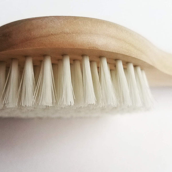 Dry Brushing Skin Brush With Short Handle