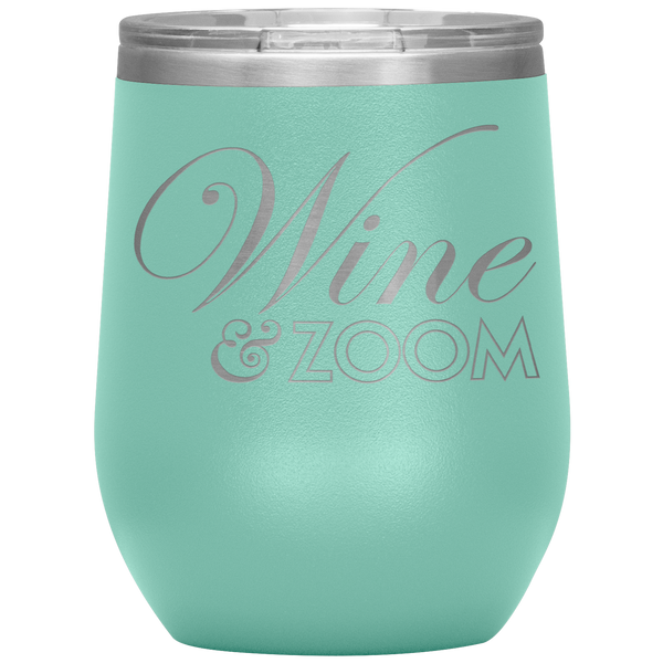 Wine and Zoom Happy Hour Wine Tumbler