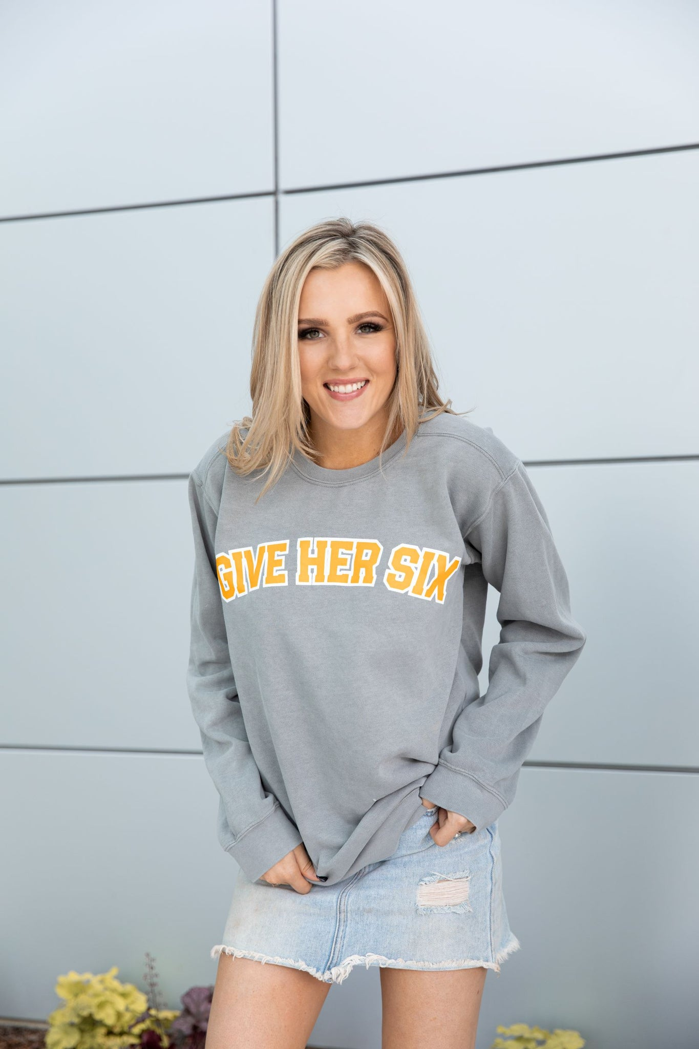 Give Her Six Sweatshirt