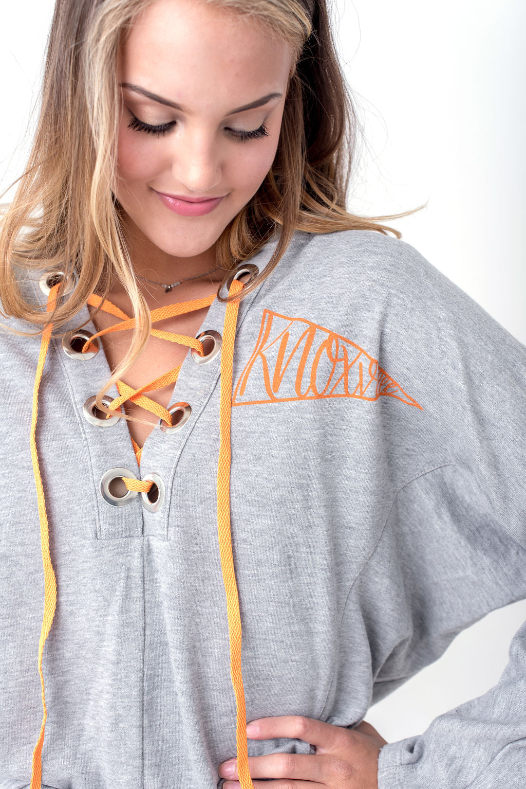 Lace Up Hoodie Knoxville