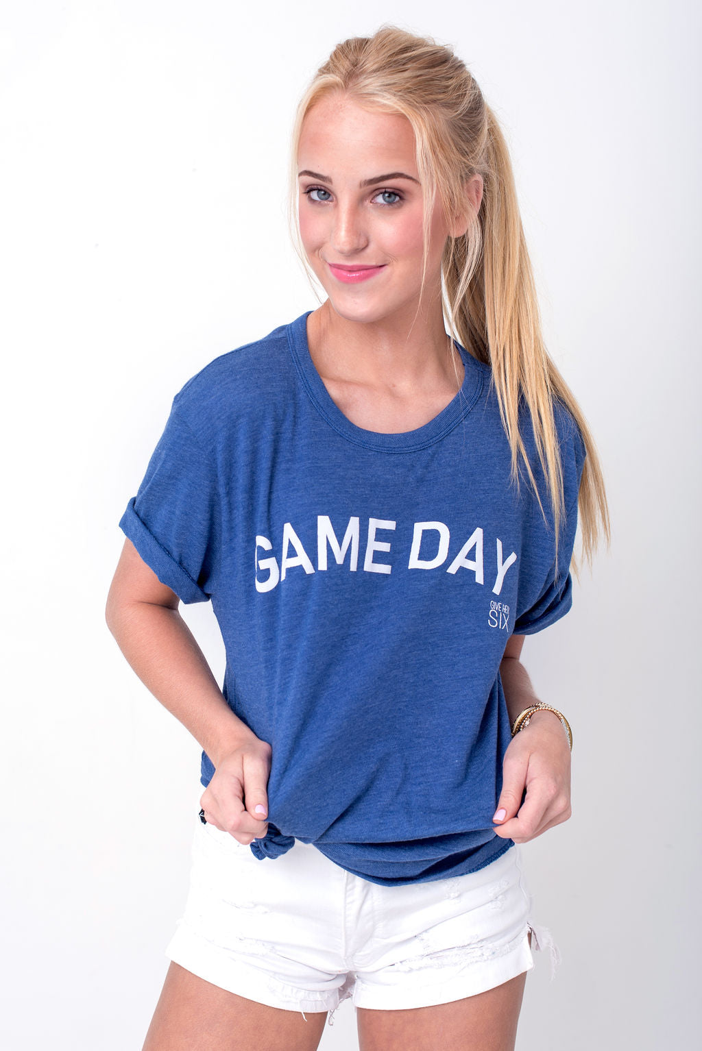 Game Day Blue Tee