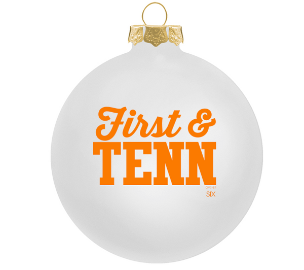 First and Tenn Ornament