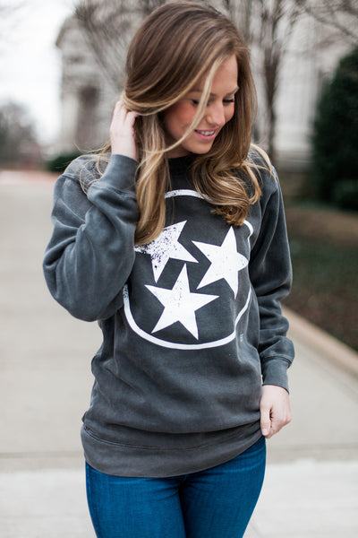 Tristar Comfort Colors Sweatshirt - Pepper