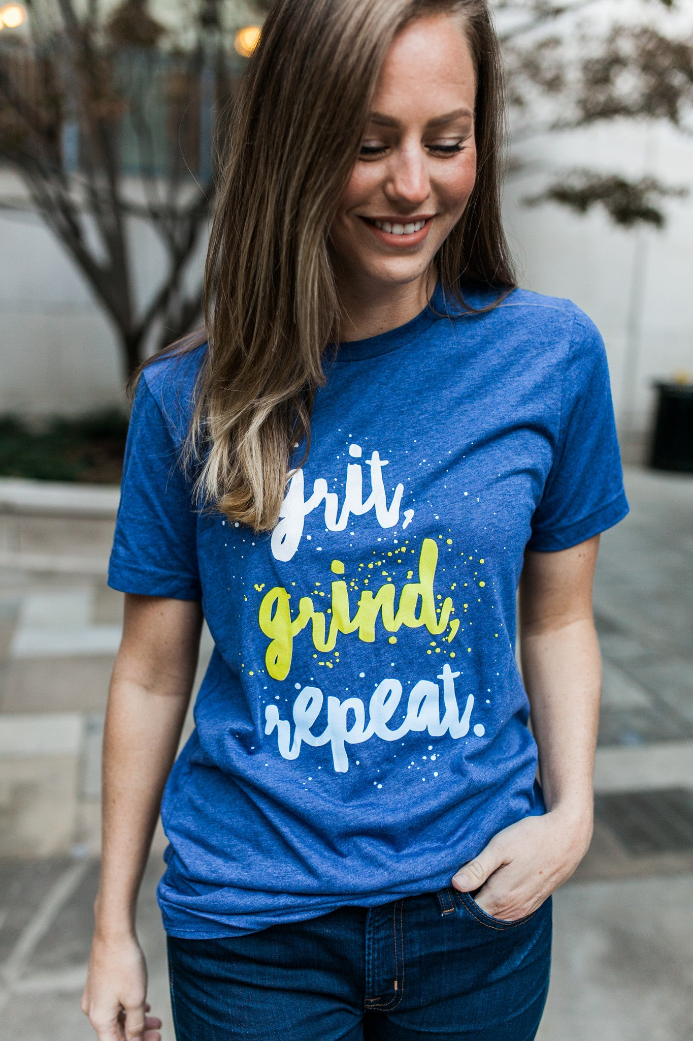 Grit, Grind, Repeat Unisex Short Sleeve Tee