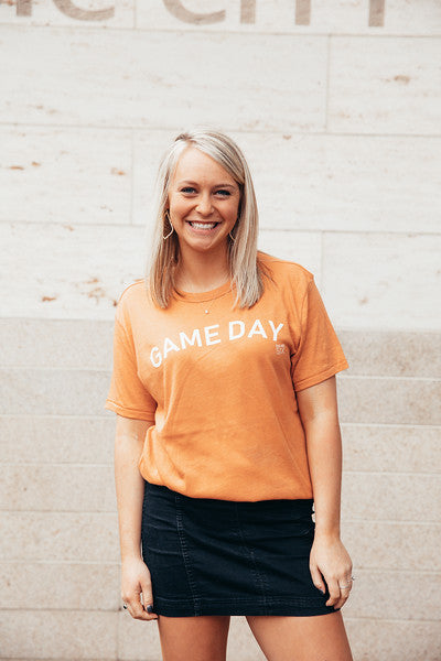 Game Day Orange Tee