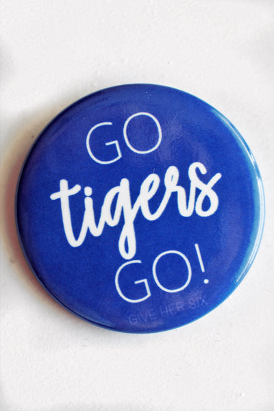Go Tigers Go Button