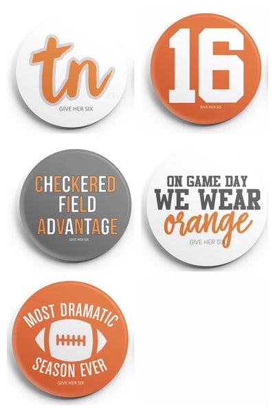 Tennessee Button Set