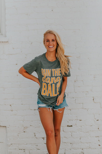 Run The Ball Tee