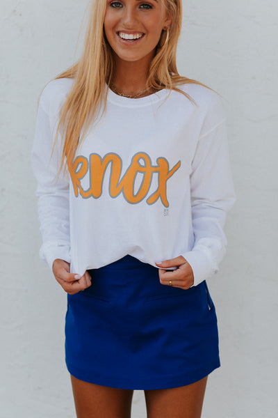Knox Script Long Sleeve