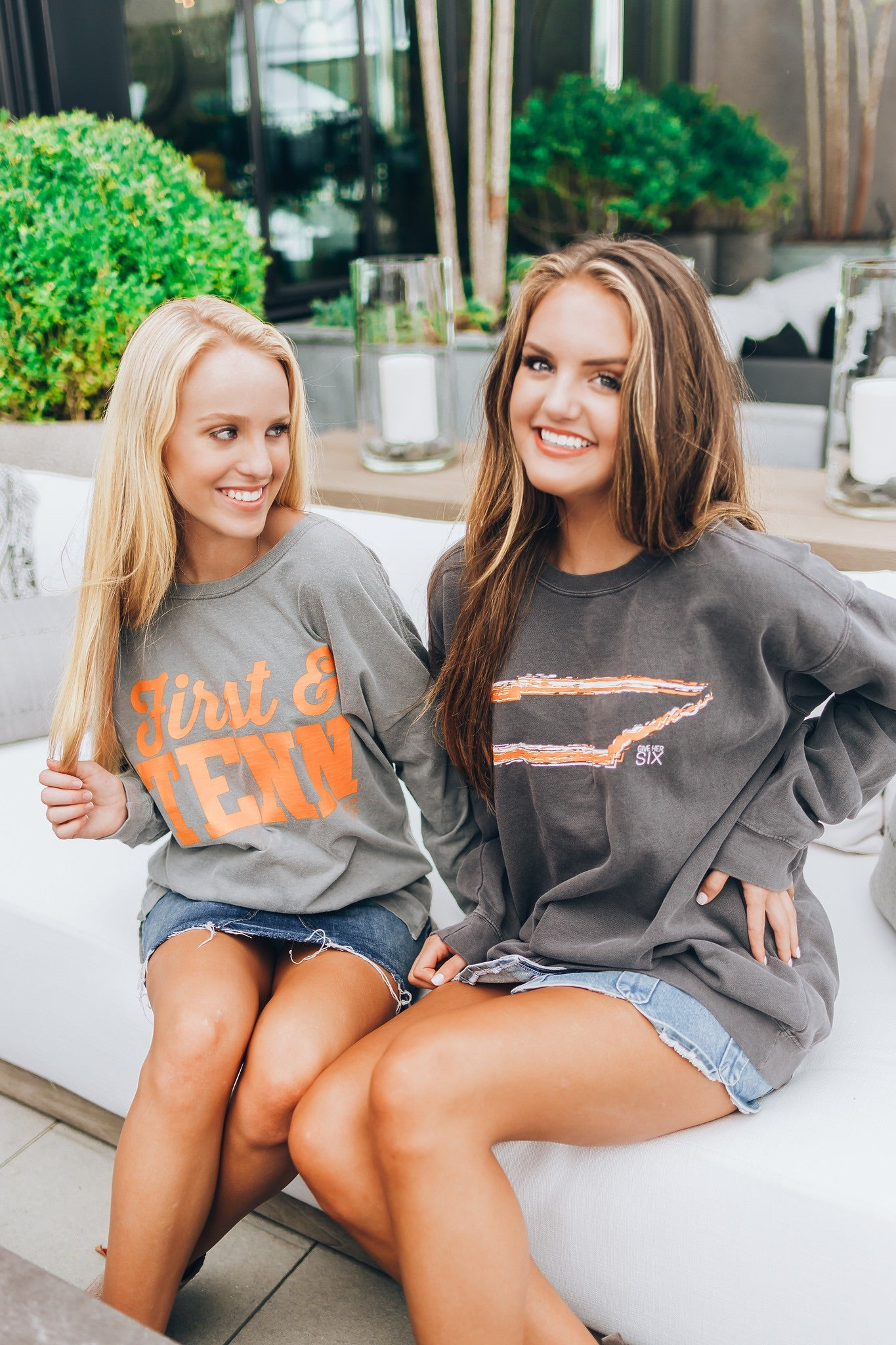 Tennessee Comfort Colors Sweatshirt by Give Her Six