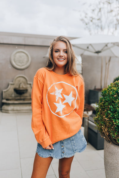 Tristar Comfort Colors Orange Sweatshirt