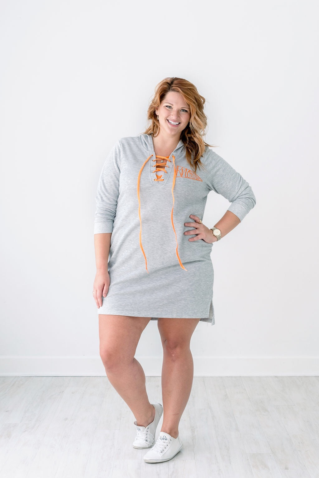 Lace-up Knoxville Hoodie Dress