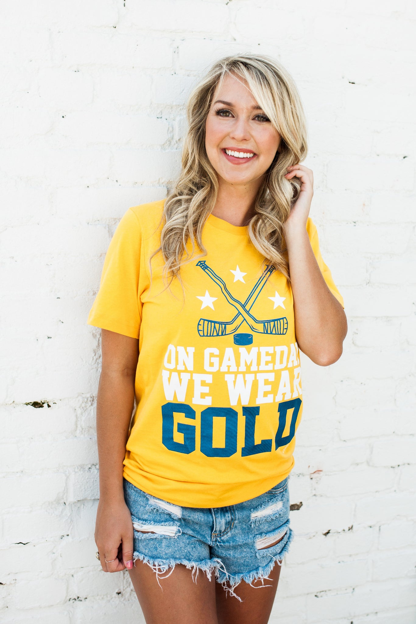 On Game Day Gold on Gold