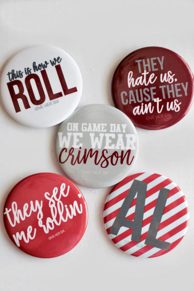 Alabama Button Set