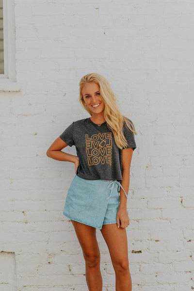 Love Cropped Tee