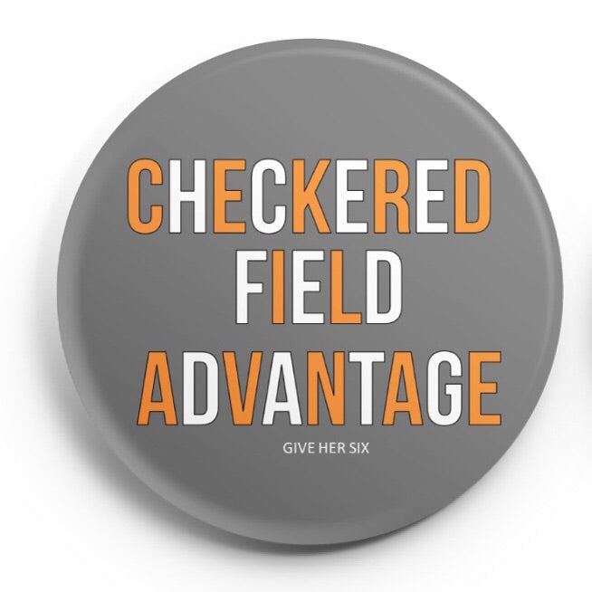 Checkered Field Advantage Button