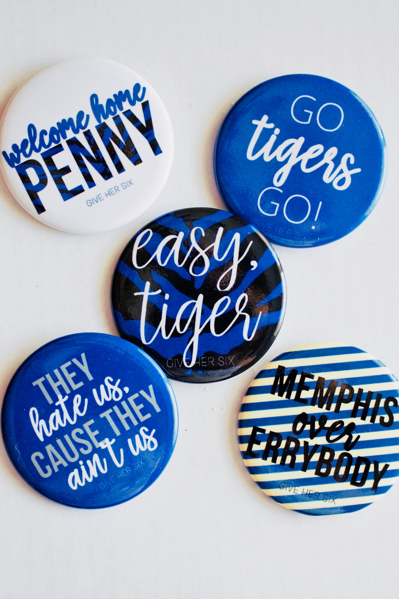 Memphis Button Set