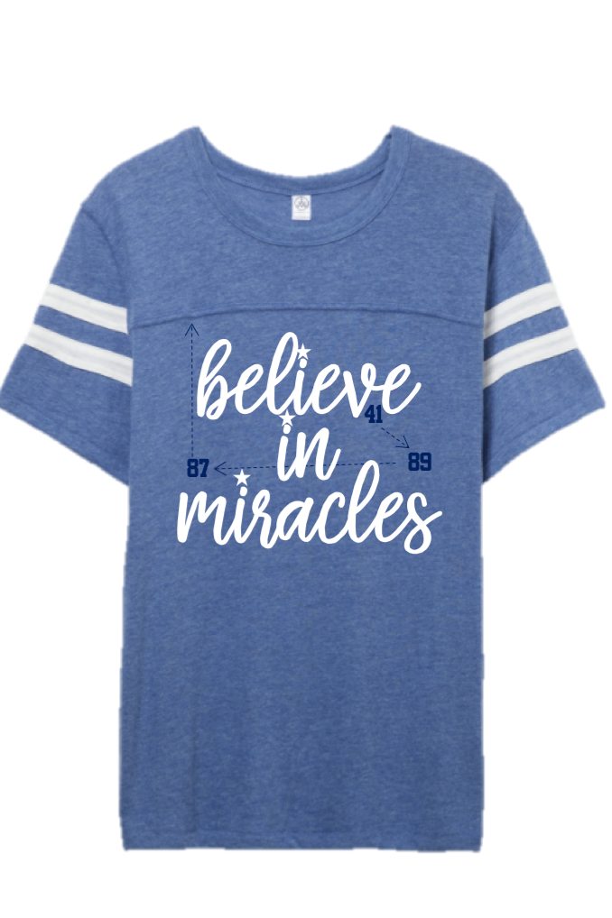 I Believe In Miracles Jersey