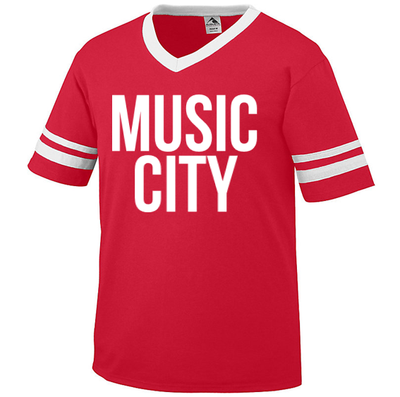 Music City Red Jersey