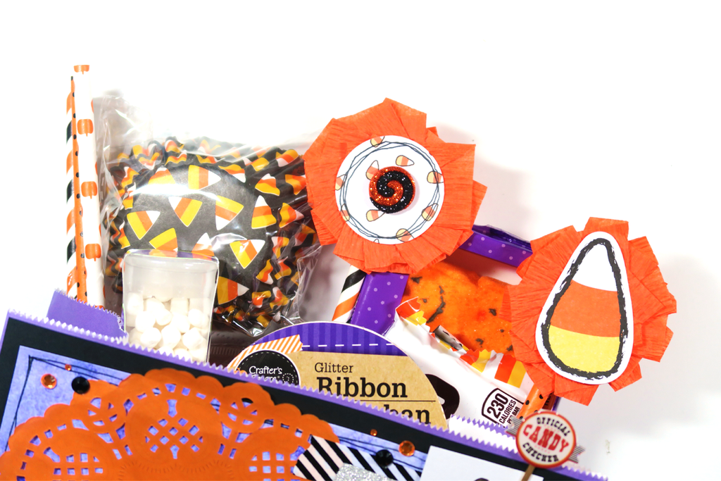 #CREEPYCRAFTYDAYS // Candy Corn Bag Flip Tutorial & Process Video