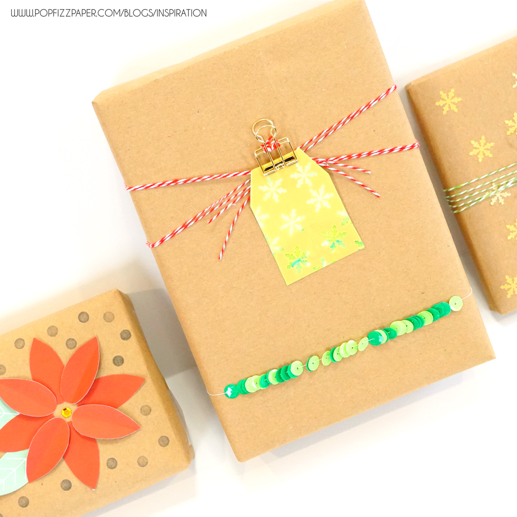 7 DIYs for embellishing a wrapped gift!