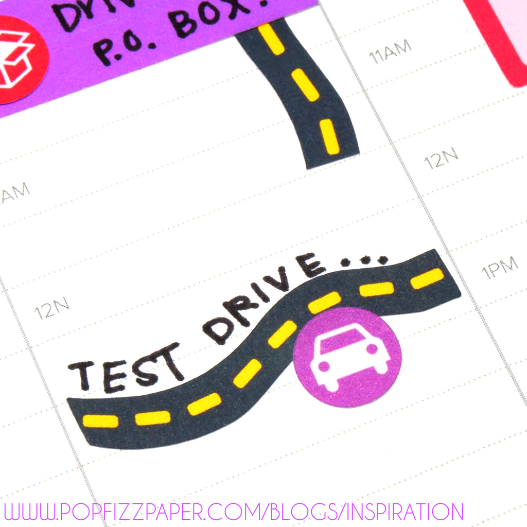Planning with Road Travel stickers!