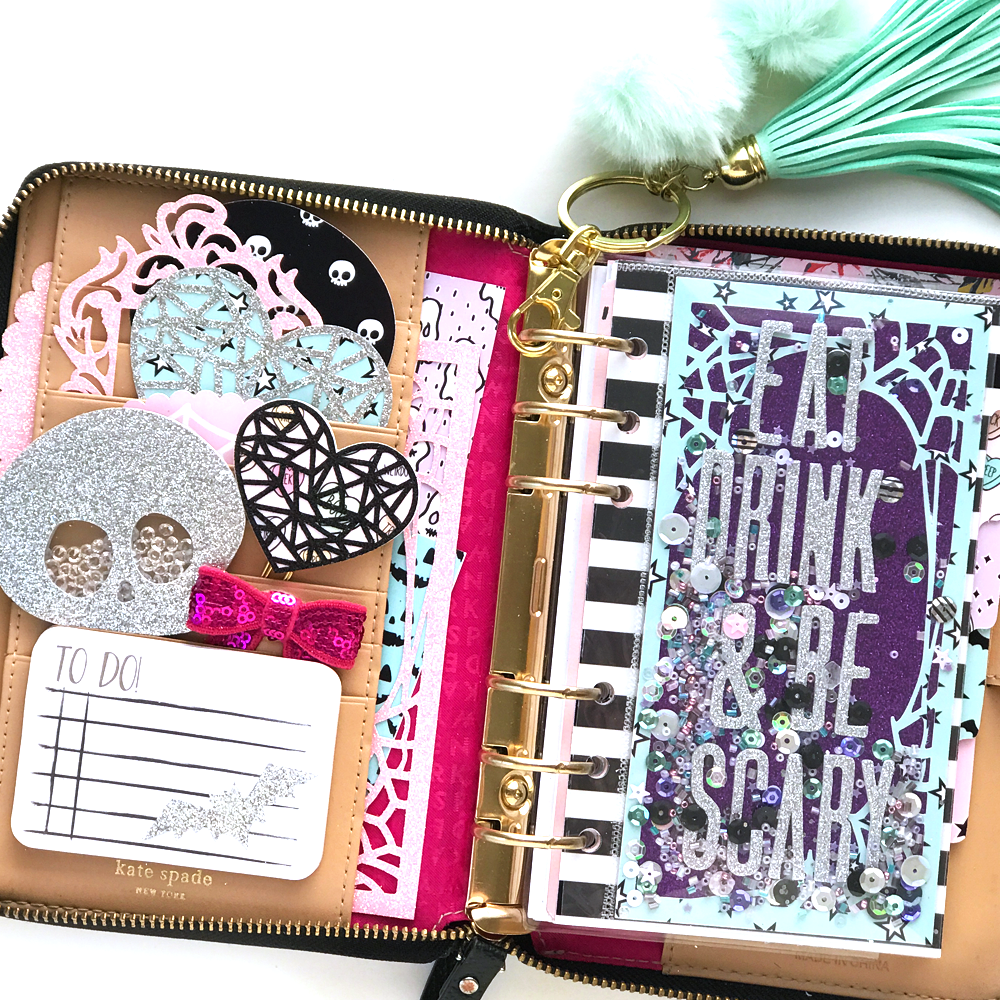 Creepy Cute Planner Supplies feat. Papercakes