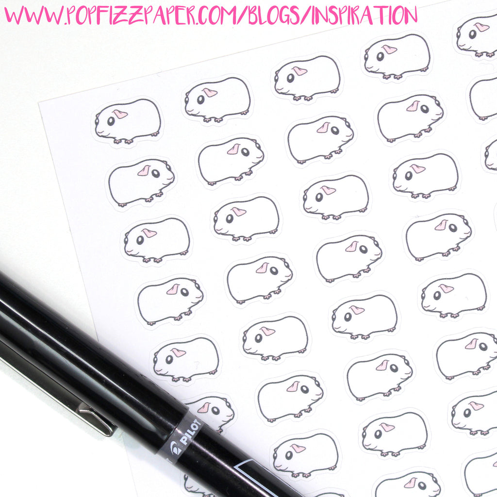 Customizing Guinea Pig Stickers