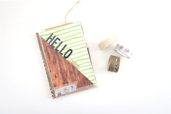 Journal Card Flip Book