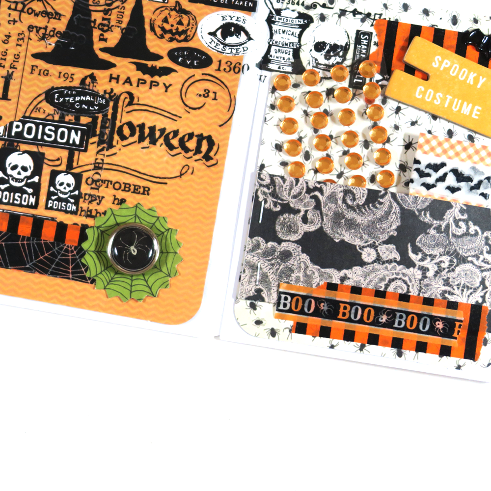Halloween Mini Envelope Flip Book