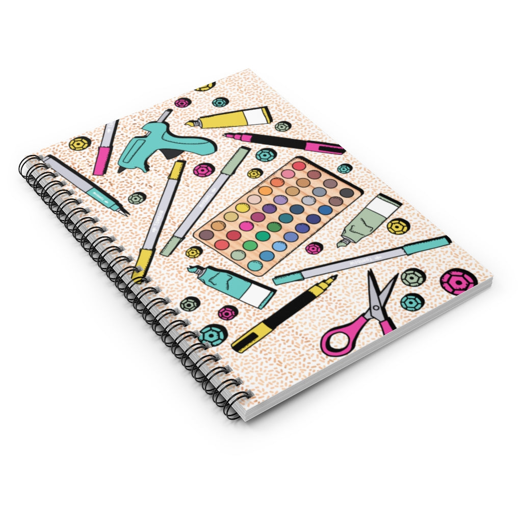CRAFTY CAMP NOTEBOOK // Supplies