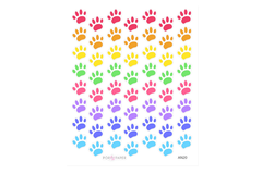 AN20 - Pawprint Pet Stickers