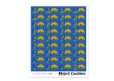 CD08 - Magical Countdown Stickers - Ravenclaw