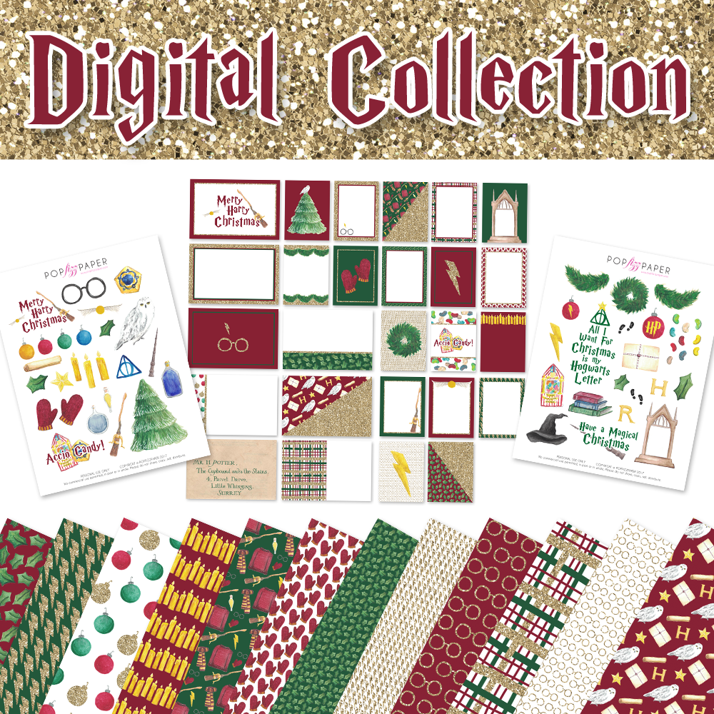 Digital Collection Kit - Merry Harry Christmas
