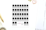 DY08 - You-Color-It Nail Polish Stickers