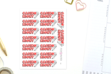 EN17 - Casino Night Stickers