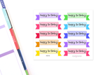 HO10 - Birthday Banners