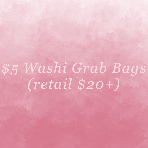 $5 Washi Grab Bag