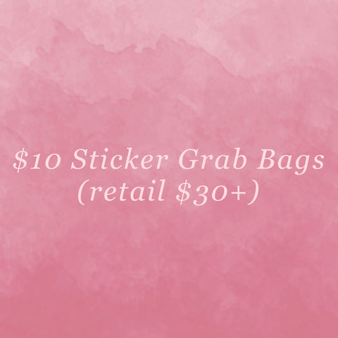 $10 Sticker Grab Bag
