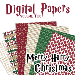 Digital Papers Volume Two - Merry Harry Christmas