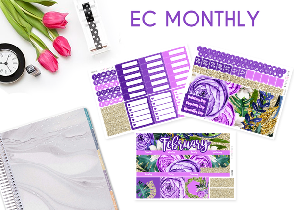 Monthly Set - February - Majestic Blooms