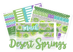 Monthly Set - March - Desert Springs