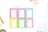 MO23 - Pastel Weekly Spending Stickers