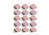 MS14 - Girls Night Stickers